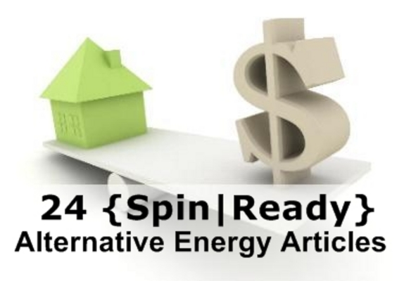 Product picture 24 Alternative Energy Spin-Ready Articles