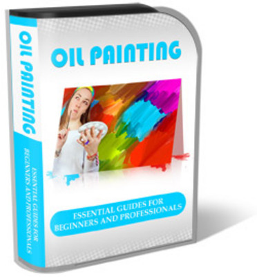 Product picture Oil Painting Mini Site Template Pack