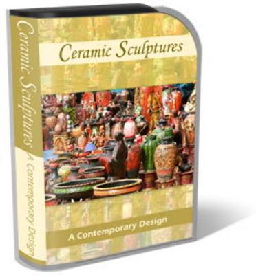 Product picture Ceramic Sculpture Mini Site Template Set
