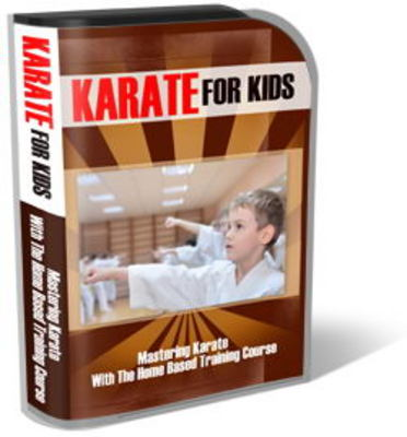 Product picture Karate For Kids Mini Site Template Set