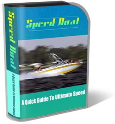Product picture Speed Boats Mini Site Template Set