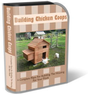 Product picture Chicken Coops Mini Site Template