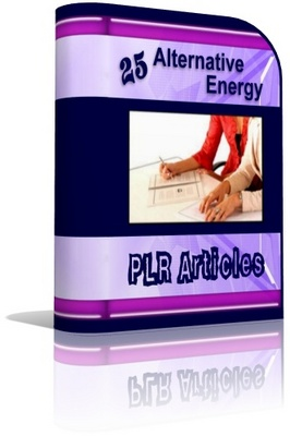 Product picture Alternative Energy PLR Articles
