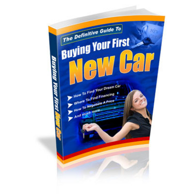 Product picture Buying Your First Car